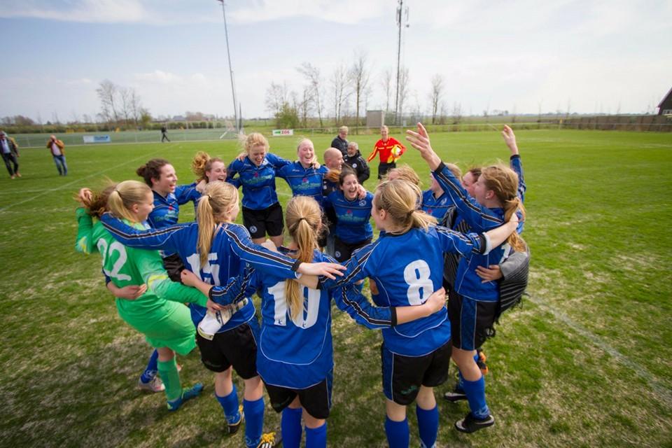 Het beste van het vrouwenvoetbal in Leeuwarden!