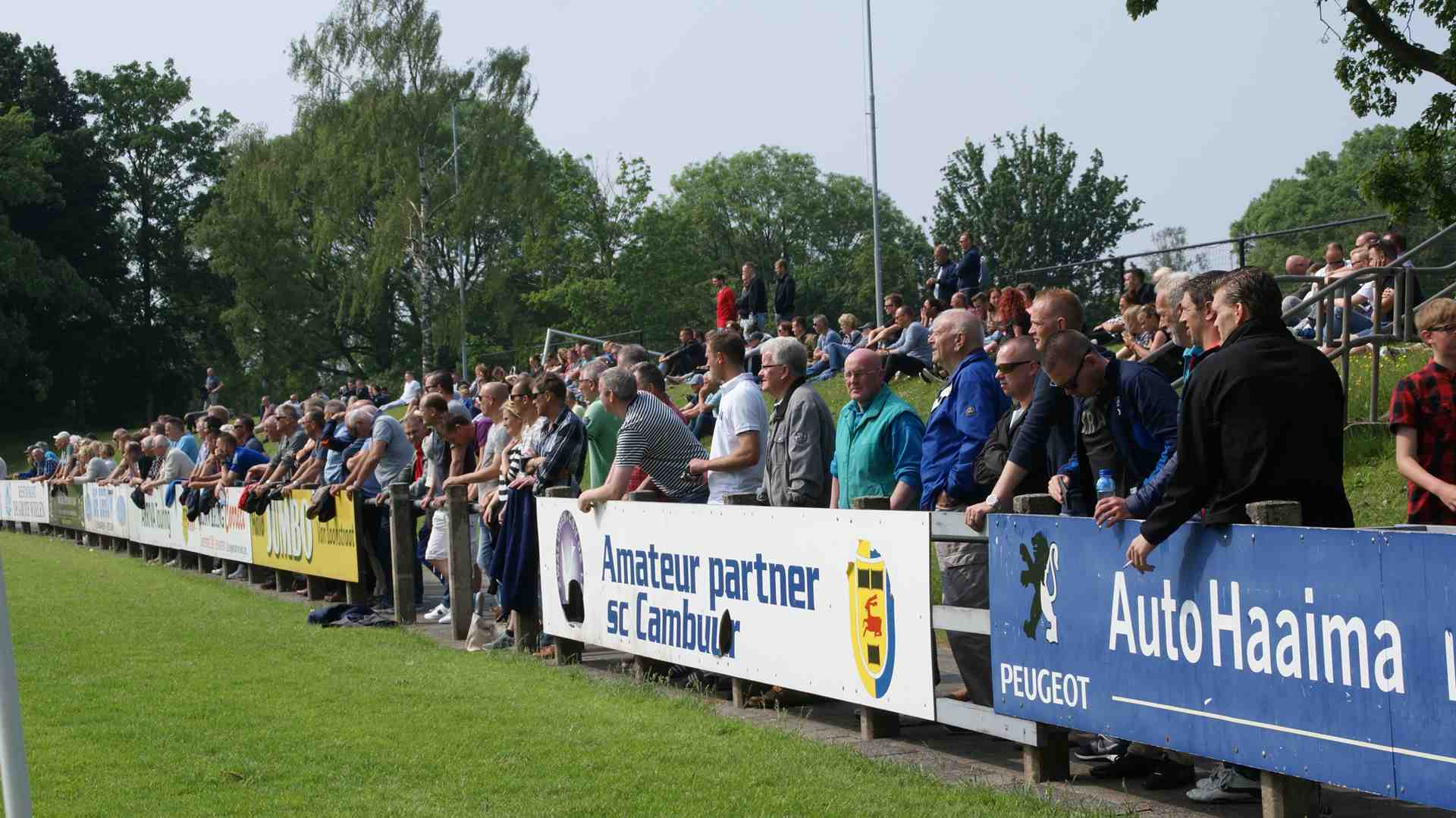 Onze trouwe Supporters