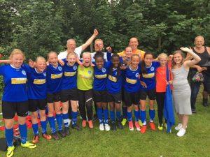 Vrouwenvoetbal en meisjevoetbal bij Leeuwarder Zwaluwen succesvol!