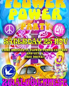 Flower Power Party @ Leeuwarder zwaluwen