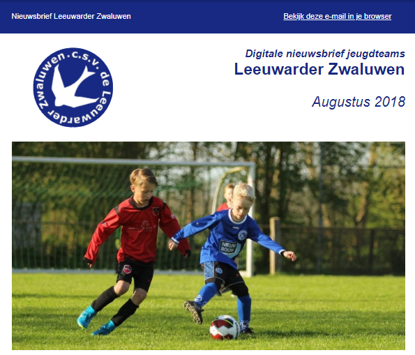 Jeugdvoetbal Leeuwarder Zwaluwen