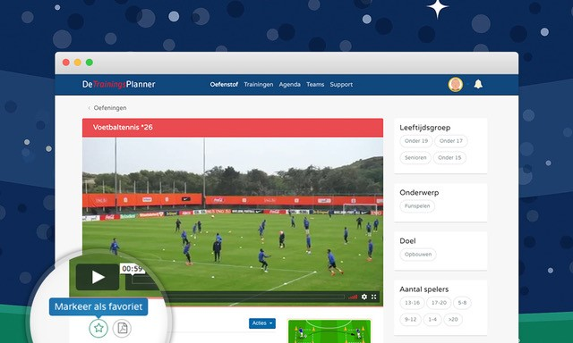 Hét online programma met oefenstof en trainingen voor voetbaltrainers en clubs