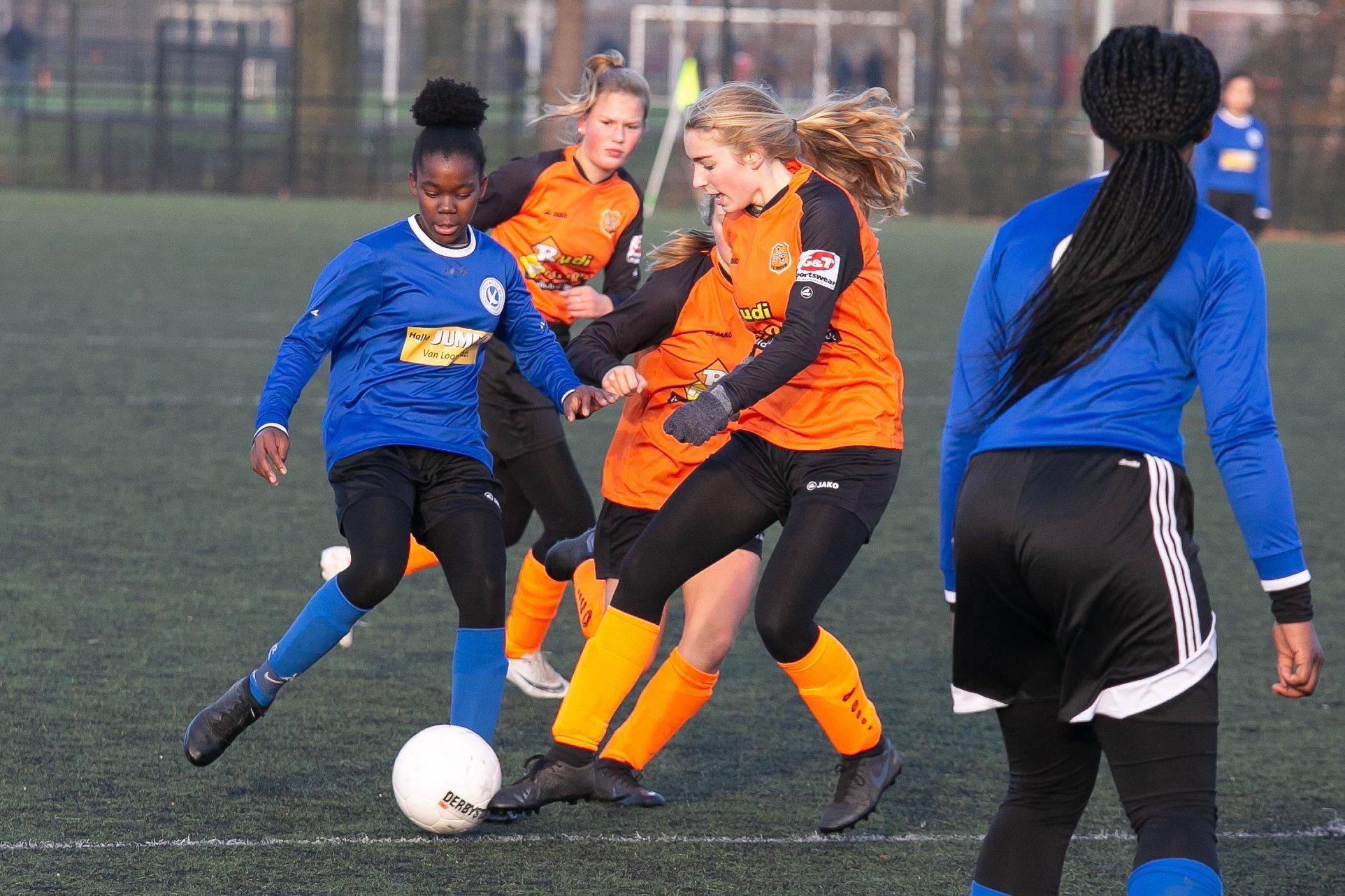 Meidenvoetbal Leeuwarden