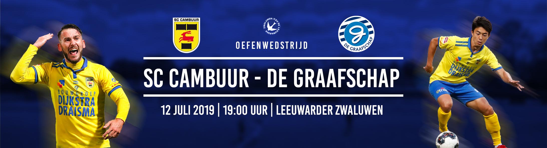 Oefenwedstrijd Cambuur - De Graafschap @ CSV De Leeuwarder Zwaluwen