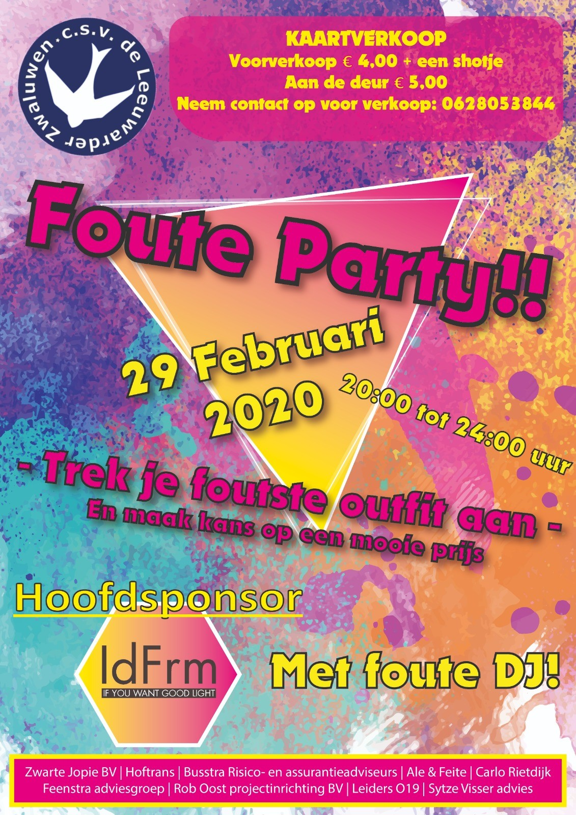 Foute Party @ 't Zwaluwennest
